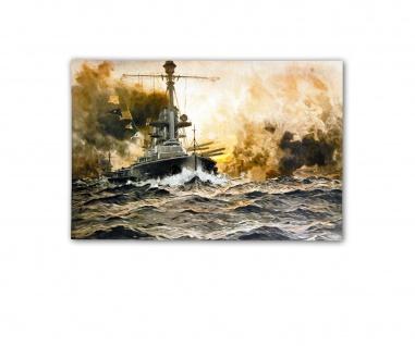 Poster SMS Lützow in der Schlacht von Jütland Claus Bergen ab 30x20cm #33147