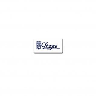 Praga Aufkleber Sticker Maschinenbauunternehmen Rennwagen Karts 10x5cm#A3934