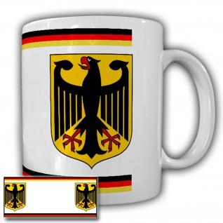 Tasse Deutschland Adler Heimat Germany Wappen Abzeichen Berlin #22331
