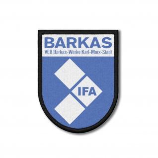 Patch VEB Barkas-Werke DDR Aufnäher B-1000 IFA Karl-Marx-Stadt #36804