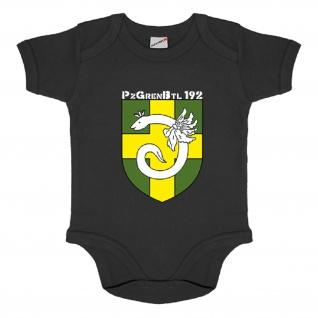 PzGrenBtl 19 Panzergrenadierbataillon Bataillon Body Baby Babystrampler #5463