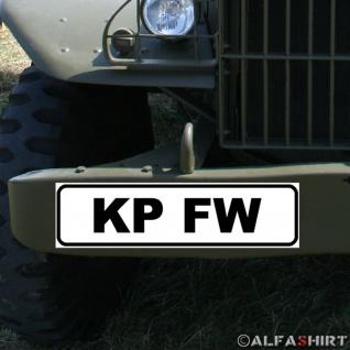 Magnetschild Kp FW Kompanie Feldwebel Spieß Mutter der BW Gelbe Kordel #A346