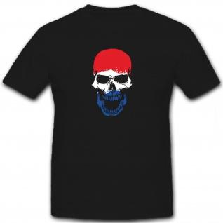 Skull Holland Niederlande - T Shirt #6484