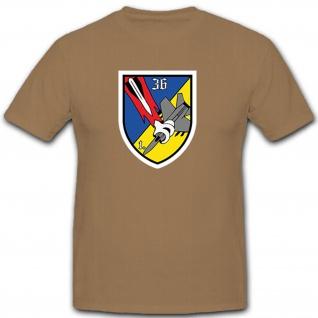 1./FlaRakBtr 36 Flugabwehrraketenbatterie Verteidigung Flugabwehr T Shirt #10504