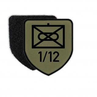 Patch 1 Kompanie PzGrenBtl 12 Panzergrenadier Bundeswehr Zeichen Symbol #35403