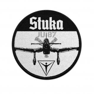 9cm Patch Stuka Ju87 Junkers Flugzeug Luftwaffe Sturzkampfbomber #1807
