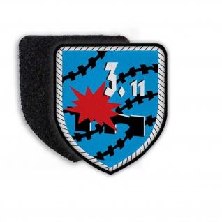 3. PiBtl 11 Patch Bundeswehr BW Militär wappen siegel einheit Stolz #22798