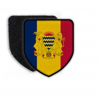 Patch Flag of Chad Flagge Land Staat Wappen Aufnäher Abzeichen #21323