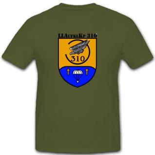 Bundeswehr Einsatz Fallschirm Luftlandeaufklärungskompanie 310 T Shirt #2709