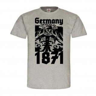 Germany 1871 Deutsches Kaiser-Reich Deutschland Gründung Preußen Adler #24501