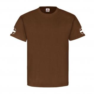 Balkenkreuz EK WK 1 Wk 2 Fliegertruppe Panzertruppe Panzer T Shirt #2996