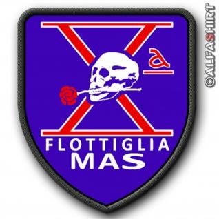 Patch / Aufnäher - Flottiglia MAS-Italien Kampfschwimmer Spezialeinheit #7614