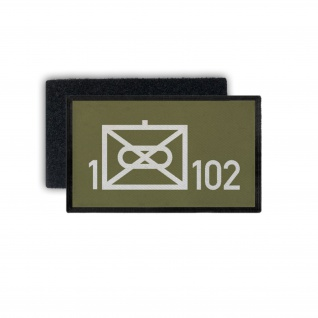 Patch 1 PzGrenBtl 102 Panzergrenadier Bataillon Bayreuth Wappen 9, 8x6cm #30456