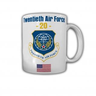 Tasse Twentieth Air Force USAAF United States Air Force US Amerika Bomber #30103
