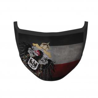 Mundmaske Kaiserreich Adler Vintage Flagge Reich Deutschland Nasen #35766