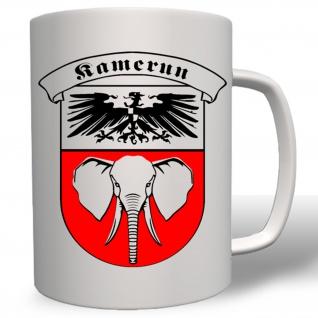 deutsche Kolonie Kamerun WK 1 Afrika Preußen Wappen Abzeichen Emblem #2950