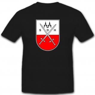 Verband Wappen Stammdienststelle Heeres Bundeswehr Militär T Shirt #1939