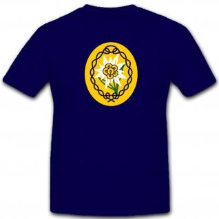 Wappen Dak Heer Edelweiss Wk Wh Abzeichen Emblem - T Shirt #4481