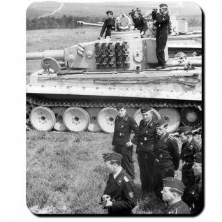 Tiger Panzer Besatzung Panzermänner Wk Wh Panzerkampfwagen - Mauspad PC #14198