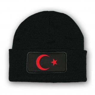 Mütze/Beenie - Türkei Flagge Istanbul Mond Stern Türkiye Fahne Land - #10367 m