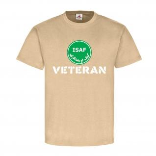 ISAF Kunduz Veteran Bundeswehr Auslandseinsatz Soldat Reservist - T Shirt #14262