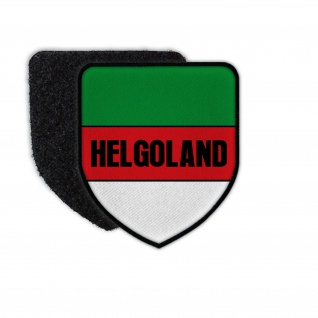 Patch Helgoland Wappen Abzeichen Nordsee Insel Urlaub Heimat #32067