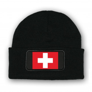 Mütze Schweiz Fahne Wappen Fahne Schweiz Eidgenossen Alpen Berge Bern #7040