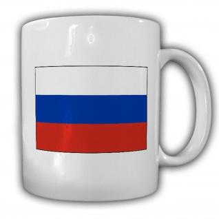 Russland Fahne Flagge Russische Föderation Kaffee Becher Tasse #13872