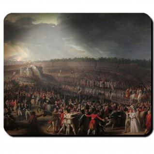 Pariser Marsfeld Fête de la Fédération Französische Revolution Mauspad #16145