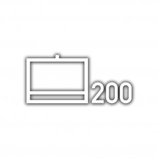 Aufkleber Taktische Zeichen NschKp 200 Nachschub BW Unna 14x30cm #A4648