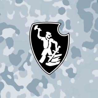 Aufkleber/Sticker sPzAbt 507 schwere Panzer Abteilung Tiger Panzer 10x8cm A653