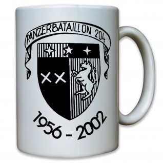 PzBtl 204 Panzerbataillon Panzer Bataillon Militär Abzeichen Emblem Tasse #12153