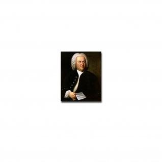 Johann Sebastian Bach Aufkleber Sticker Komponist Künstler 6x7cm#A3889