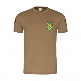 BW Tropen JgBtl 542 Jäger-Bataillon Bundeswehr Abzeichen Wappen T-Shirt#30212