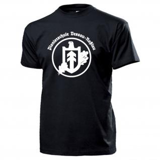 Pionierschule Dessau-Roßlau Wappen Abzeichen Pionier Übungsplatz T Shirt #1427