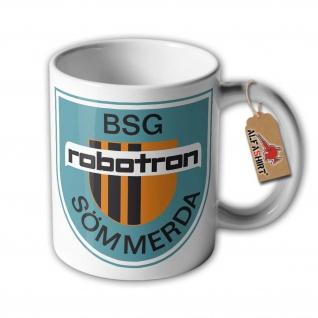 DDR BSG Sömmerda Betriebssportgemeinschaft Fussball Kaffee Tasse #33350