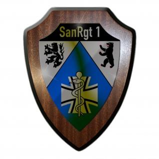 Wappenschild SanRgt 1 Sanitäts Regiment Bundeswehr Sanitätstruppe Berlin #31484