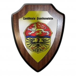 Wappenschild / Wandschild - Landkreis Frankenstein Schlesien Polen #25656