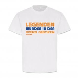 Legenden wurden in den 80ern geboren Legende Helden Kindheit T-Shirt #19636