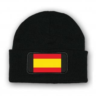 Mütze Spanien Fahne Madrid Barcelona Beanie Malle Armee Flagge Urlaub #7041