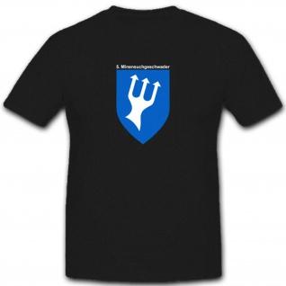 Minensuchgeschwader Bundesmarine Deutschland Minenstreitkräfte - T Shirt #3844