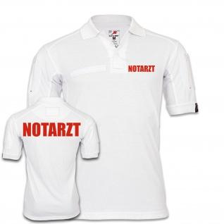 Tactical Polo Notarzt Doktor Arzt Krankenhaus Bekleidung Hemd KRKW #24810