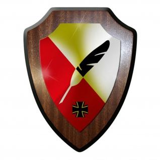 Wappenschild / Wandschild - ZMSBw Zentrum für Militärgeschichte #12213