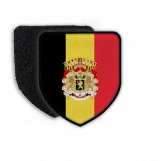 Patch Flag of Belgien Belgium Land Nation Flagge Sprache Landesflagge #21358
