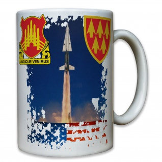 71st Ada 32nd Aadcom Us Army Wappen Raketen Hercules Amerika - Tasse #7837