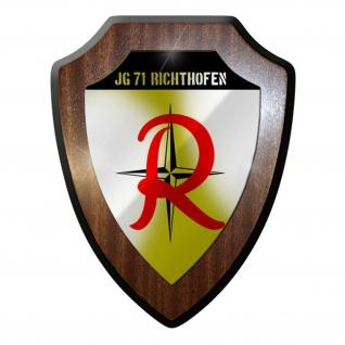 Wappenschild / Wandschild / Wappen - Jagdgeschwader Jg 71 Luftwaffe #8375