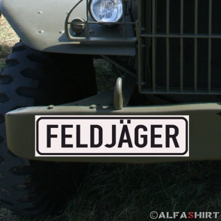 Magnetschild Feldjäger Bundeswehr Military Police Militär Polizei MP BW #A152