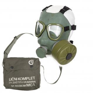 Maske M1 SFRJ Schutzmaske Filter Armee Atem Notfall Schutz Virus#34074
