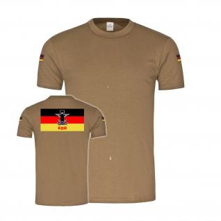 BW Tropen EOD Fahne Kampfmittelbeseitigung Bundeswehr Deutschland T-Shirt #34967
