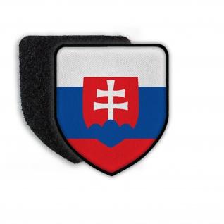 Patch Landeswappenpatch Slovakia Bratislava Fahne Flagge Wappen Siegel #21968